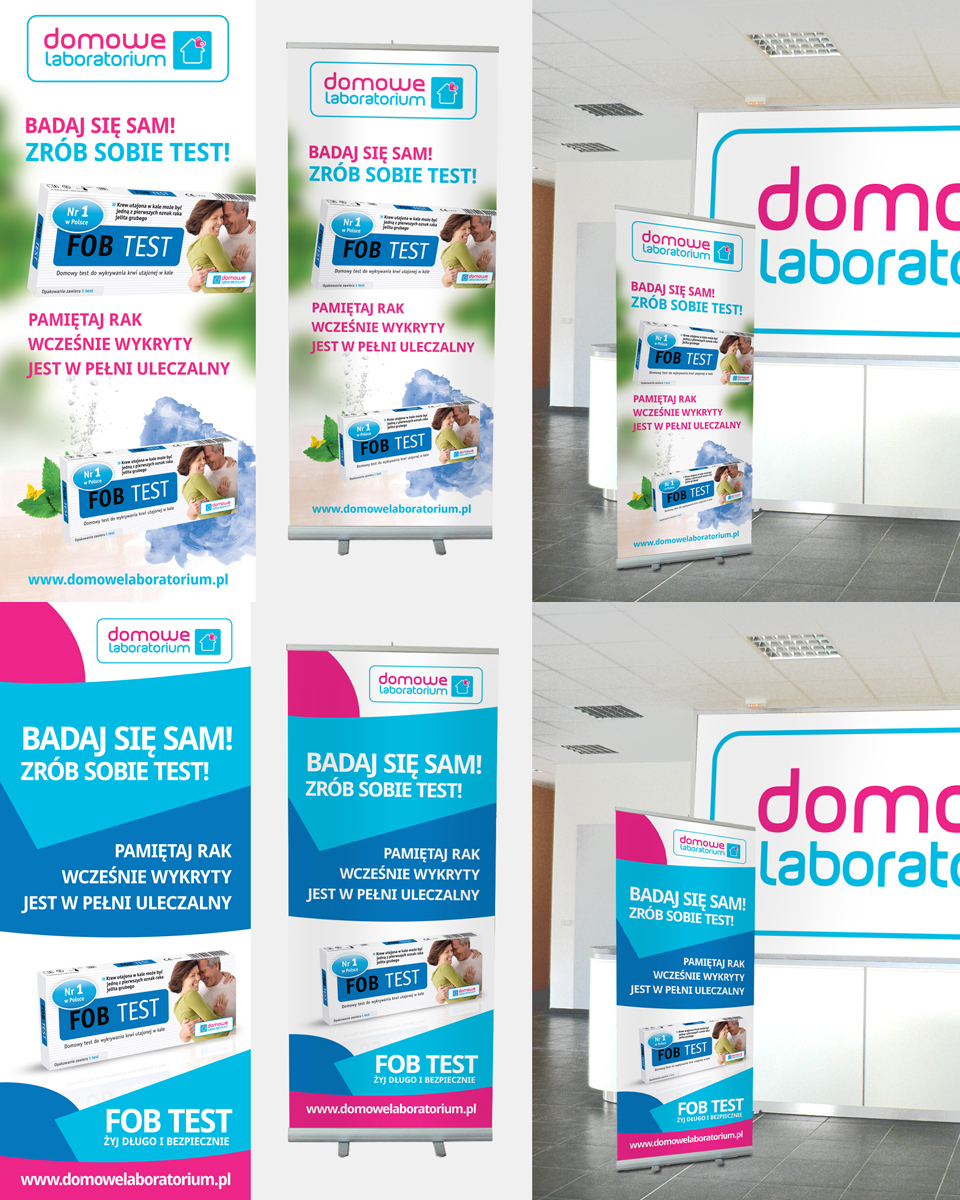 Roll-up dla laboratorium.